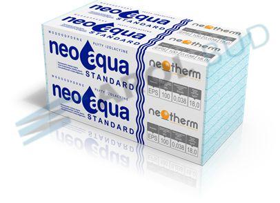 Styropian wodoodporny, fundamentowy NeoAqua EPS 100