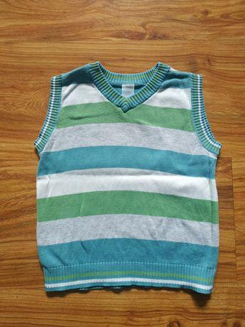 Kamizelka sweterkowa dla chłopca