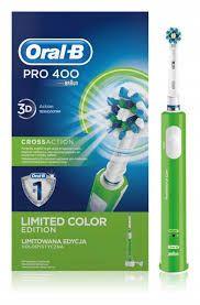 Szczotka BRAUN ORAL-B PRO 400 zielona edycja limitowana do zębów