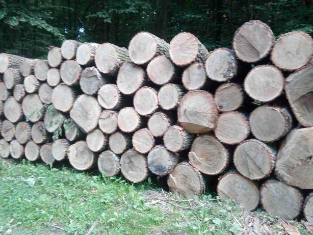 Drewno opałowe w wałku