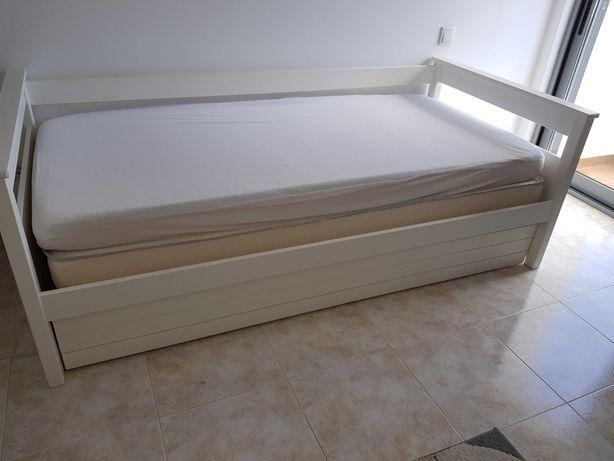 Cama Dupla 90x190 cm