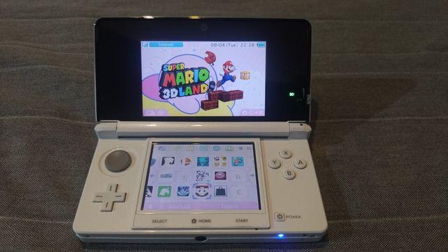 Nintendo 3DS CFW przerobiony 16GB + Karta SDHC 16gb