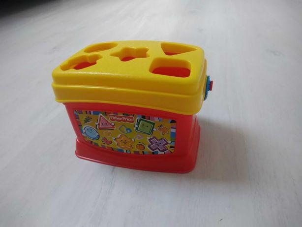 Zabawka dla dziecka wiaderko z klockami