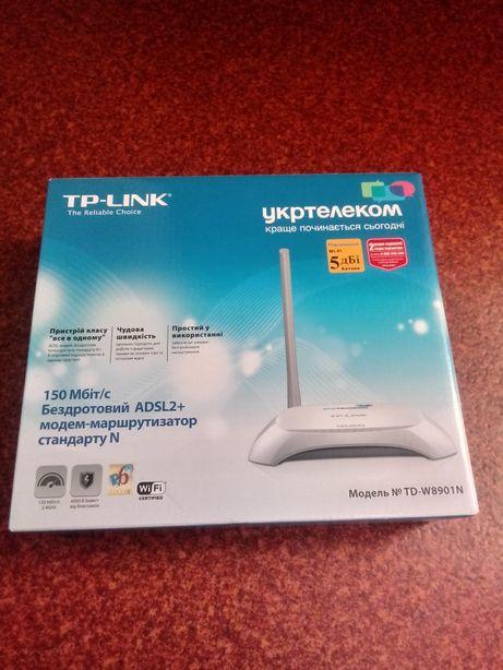 Продам модем-маршрутизатор TP-LINK ADSL2+