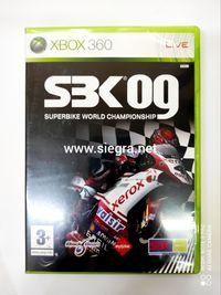 SBK 09 Xbox 360 .