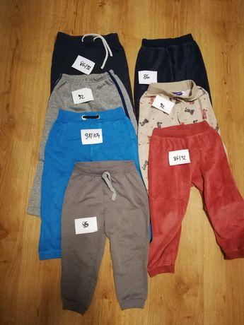 Spodnie  kurtki chłopięce