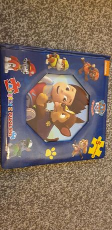 Książka - puzzle Psi Patrol