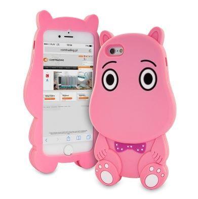 Case Etui 3D Muminek, muminki różowy Huawei P8 LITE