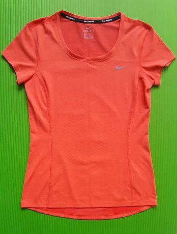 Koszulka Nike Running Dri-Fit neon