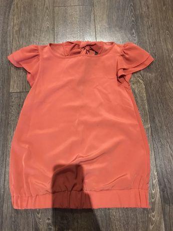 Łososiowa bluzka z gołymi plecami Dorothy Perkins