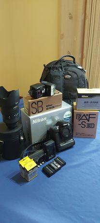 Nikon Digital SLR D100 com equipamento