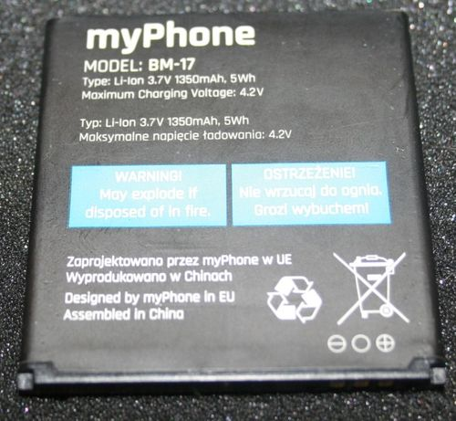 Bateria do telefonu myPhone C-SMART 3 BM-17