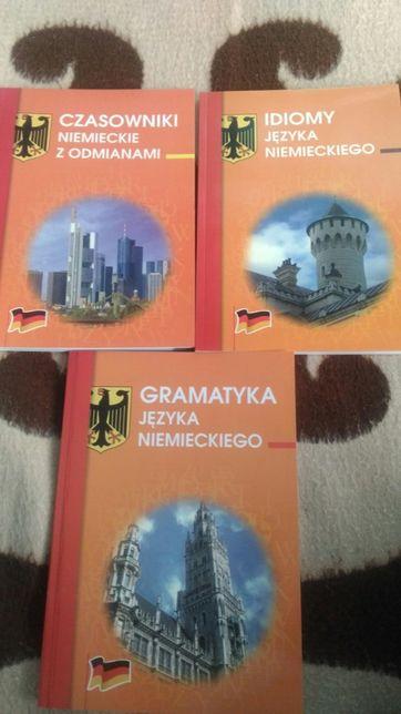 Gramatyka niemieckiego, idiomy niemieckie i czasowniki z odmianami