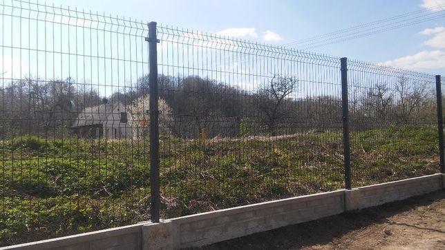 Ogrodzenia Panelowe, zestaw Panel ogrodzeniowy, Panele z Montażem