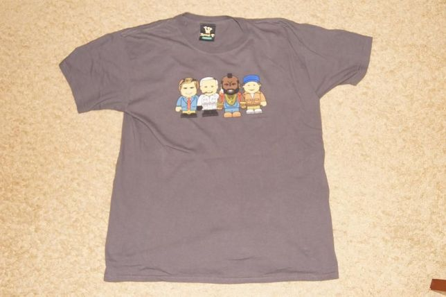 kultowa koszulka A-team / drużyna A rozmiar M