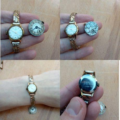 Ювелирные швейцарские часы 1964 - 2шт Everite, Rotary Англия Швейцария