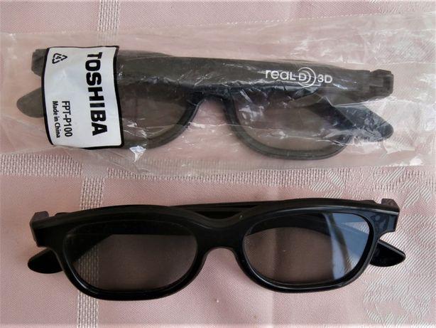 Okulary 3d Toshiba oryginalne