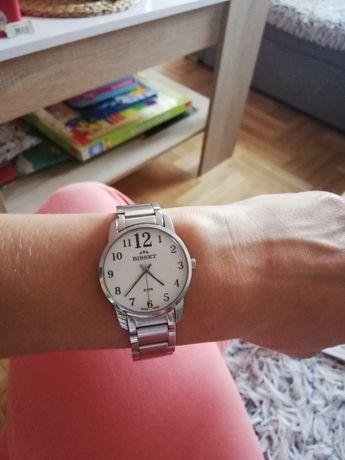 Damski zegarek Bisset BSBD09 Catarina Szwajcarski srebrna bransoleta,