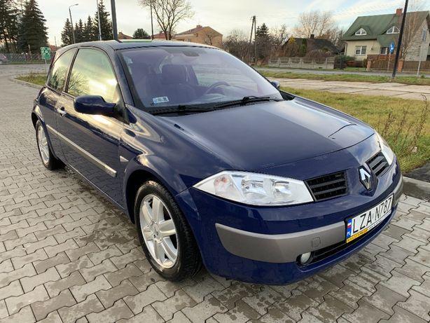 Renault Megane 2003r. Pierwszy właściciel! Polski Salon, 96 tys. km!