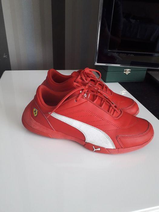 Кроссовки красные на мальчика Puma Ferrari подросток 35,5 р (22см) Одесса - изображение 1