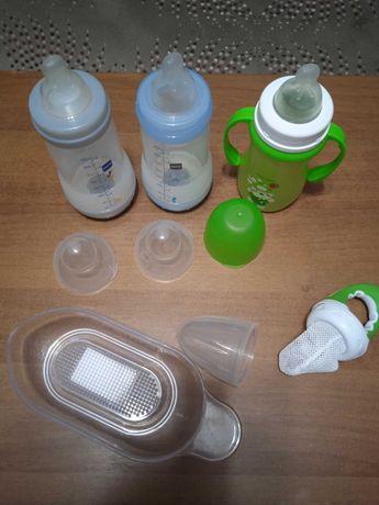 Бутылочки ниблер соски