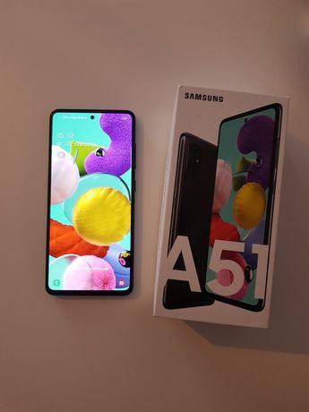 Sprzedam/zamienię Samsung A51 4/128 Dual Sim Igła + indukcja + zestaw