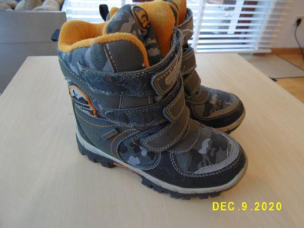 Buty zimowe dziecięce śniegowce JAK NOWE rozm 29