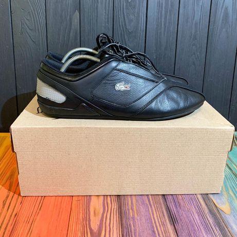 Кожаные кроссовки Lacoste 44.5 размер Tommy Hilfiger ecco clarks nike