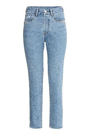 spodnie jeansowe jeansy z wysokim stanem W26 Mom Vintage H&M Premium