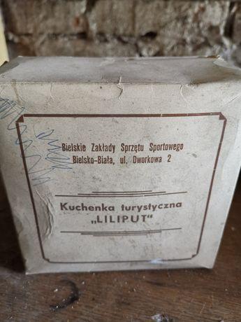 Kuchenka turystyczna Liliput kompletna 1970r Prl