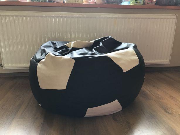 Pufa piłka nożna duża piłka do siedzenia