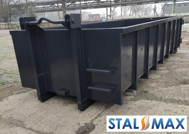 Kontener hakowy STAL-MAX ,transportowy hakowiec na złom, 19m3, odpady