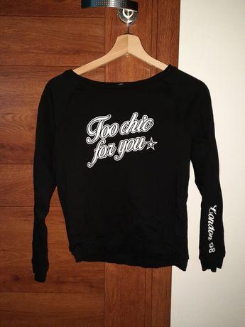 Czarna bluza H&M rozm. 170