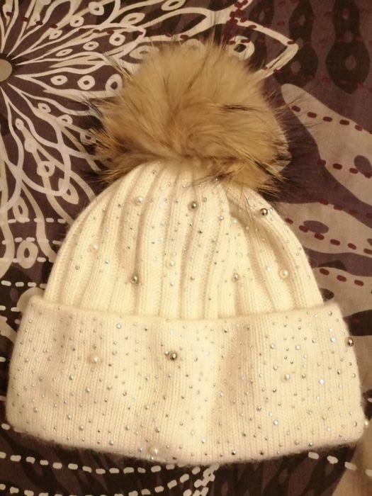 Продам шапку на девочку 7 - 9 в отличном состоянии Солнечное - изображение 1
