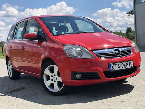 Opel Zafira B II 1.6 7 osobowe