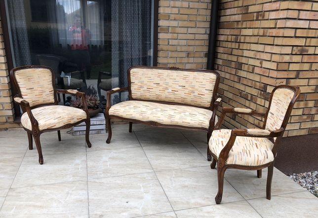 Sofa + fotele ludwikowskie
