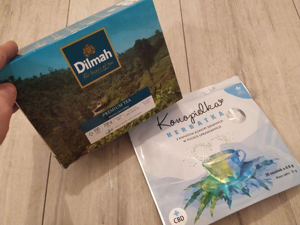 Oddam za darmo herbaty Dilmah Konopielka