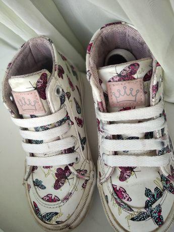 Хайтопы, ботинки, кеды для девочки Lupilu 17 см