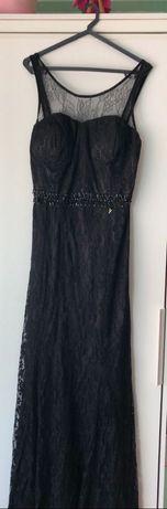 Vestido de gala preto