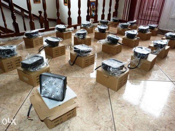Farol de LED 27w - 2150 lumens (Novos)