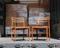 NOVIDADES | Cadeiras Niels O. Moller modelo 78 em pau santo