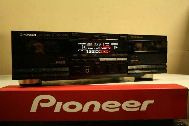 Rarytas! Najwyższy model! Deck Magnetofon PIONEER CT-W900R /Wysyłka!
