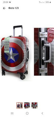 Детский  подростковый  молодёжный  чемодан ручная кладь 55 см