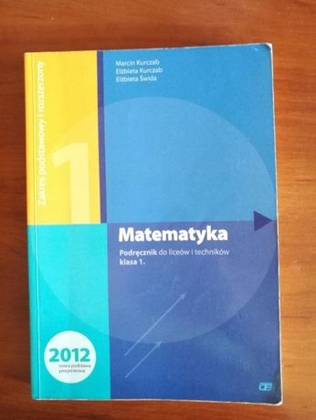 Matematyka 1 Podręcznik