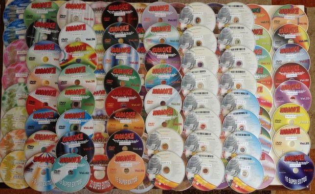 Coleção de Dvds de karaoke