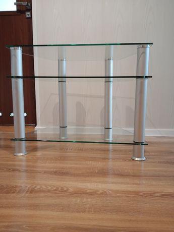 Stolik szklany-nowy (dla chomika)