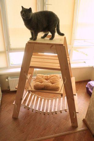 Ігровий комплекс для кота, Ігрова вежа, хатка для кота, дряпка