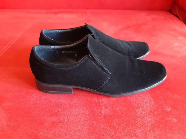 buty komunijne chłopięce z zamszu OTTIMO Collezione
