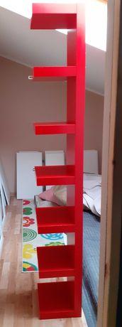 Półka Ikea czerwona