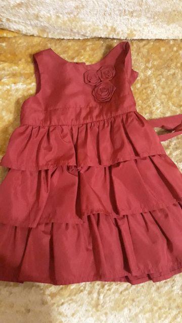 Платье 86 см.